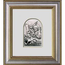 Strieborný obraz v rámiku D01.6688.71