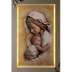 Strieborný obraz matka s dieťaťom D09.0447