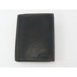 Pánska peňaženka kožená čierna farba VGALANA072C/P
