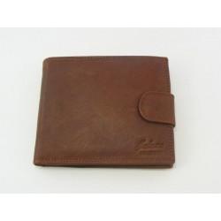 Pánska peňaženka GALANA kožená hneda farba V012A2