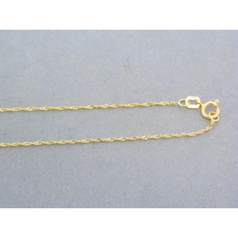 e5f91b1e3 Zlatá retiazka jemne točená žlté zlato VR455105Z. Loading zoom