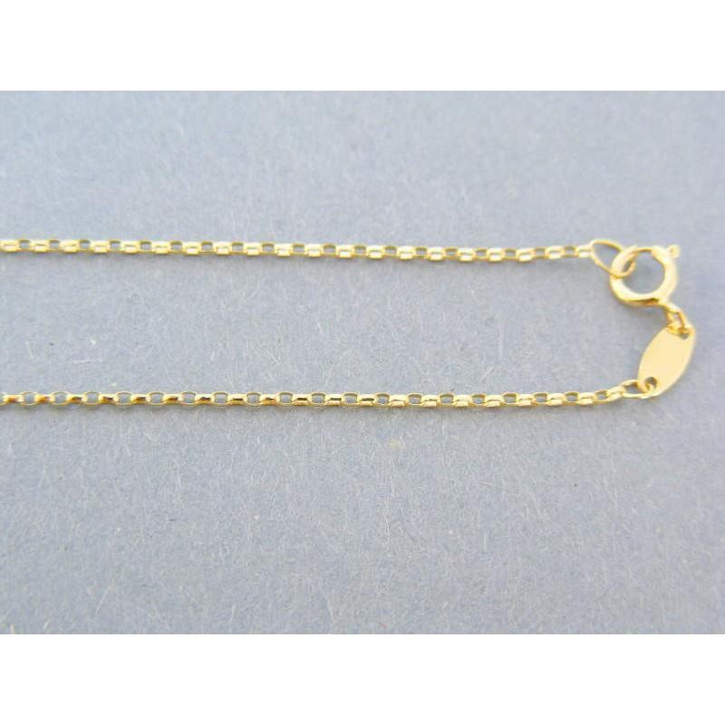e220eeb64 Zlatá retiazka očka žlté zlato VR50139Z 14 karátov 585/1000 1.39g. Loading  zoom