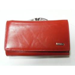 Dámska peňaženka červená red 1106