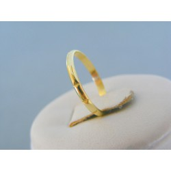 Zlatý prsteň ruženec žlté zlato VDP51092Z 14 karátov 585/1000 0.93g