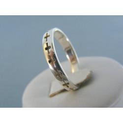 bc3155dfd Strieborný dámsky prsteň vzorovaný DPS63335 925/1000 3.35g
