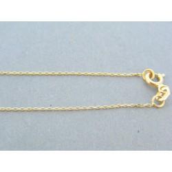 e903f35ee Zlatá retiazka dámska prívesok žlté zlato kamienky DR445198Z 14 karátov  585/1000 1.98g