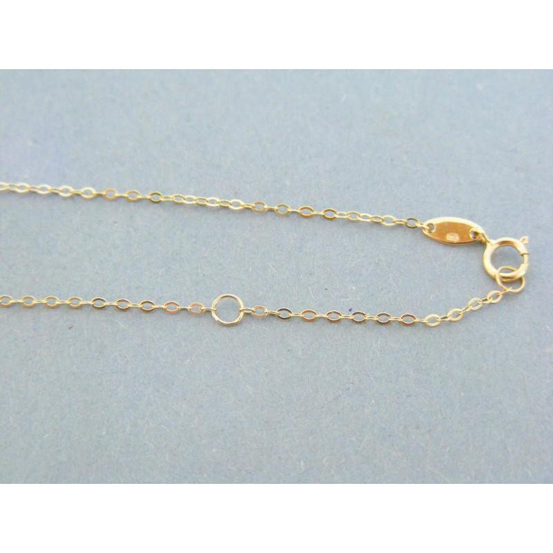 7541b92c9 Zlatá retiazka dámska zdobená žlté zlato DR45289Z 14 karátov 585/1000  2.89g. Loading zoom