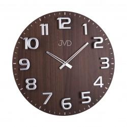 Designové drevené hodiny JVD HT075