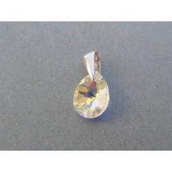Strieborný dámsky prívesok kameň swarovského DIS106 925/1000 1.06g