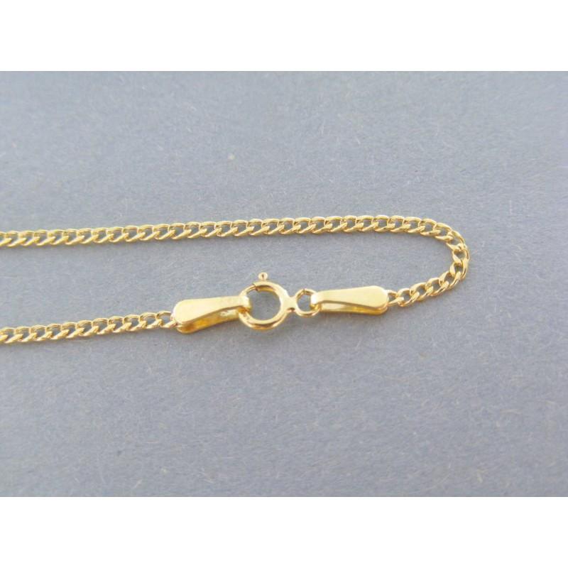 7c1dfd608 Zlatá retiazka vzor curb žlté zlato VR45122Z 14 karátov 585/1000 1.22g. Loading  zoom