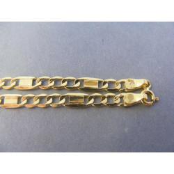 Pánska retiazka žlté zlato DR60597Z 585/1000 14 karátov 5,97 g