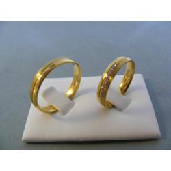 Svadobné obrúčky model 60/D2 56622528
