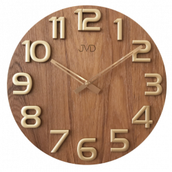 Nástenné hodiny drevené JVD HT97.5