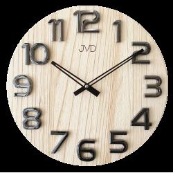 Nástenné hodiny drevené JVD HT97.4