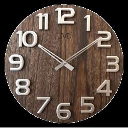 Nástenné hodiny drevené JVD HT97.3