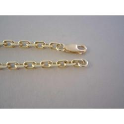 Zlatá pánska retiazky ručná pílka DR503174Z žlté zlato 14 karátov 585/1000 1,74 g