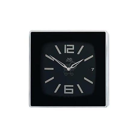 Luxusne analógové batériové nerezové nástenné hodiny JVD steel HC07.2