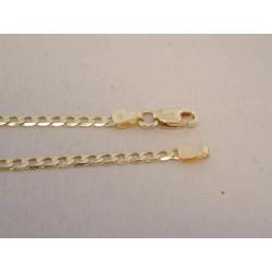 Pánska zlatá retiazka vzor PANCIER žlté zlato DR445367Z 14 karátov 585/1000 3,67 g