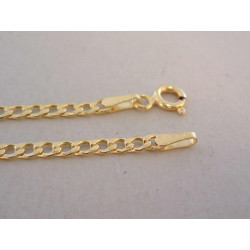 Pánska zlatá retiazka Pancier žlté zlato DR45233Z žlté zlato 14 karátov 585/1000 2,33 g