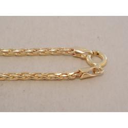 Výrazná pánska zlatá retiazka VR495418Z 14 karátov 585/1000 4,18 g